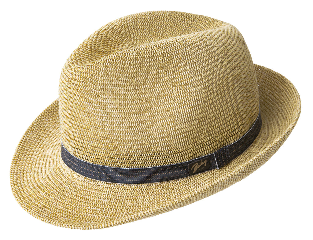 Bailey Elliot Straw Fedora Hat