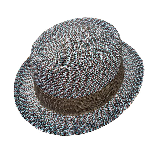 Bailey Telemannes Straw Pork Pie Hat
