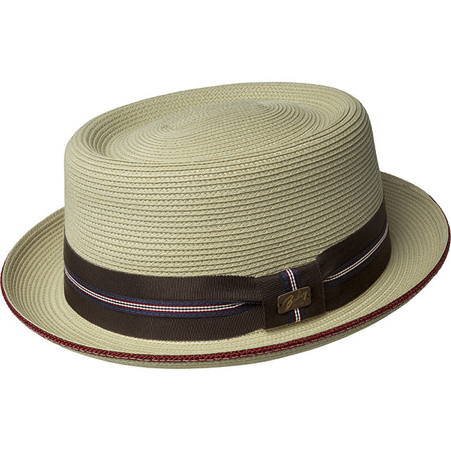 Bailey Carver Straw Pork Pie Hat