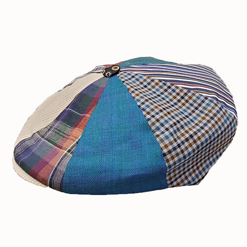 Doria Giovanni Patch Newsboy Cap