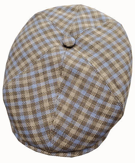 German Stetson Mark Plaid Cap