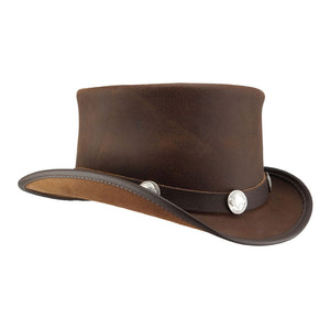 Head 'N Home Eldorado Leather Hat