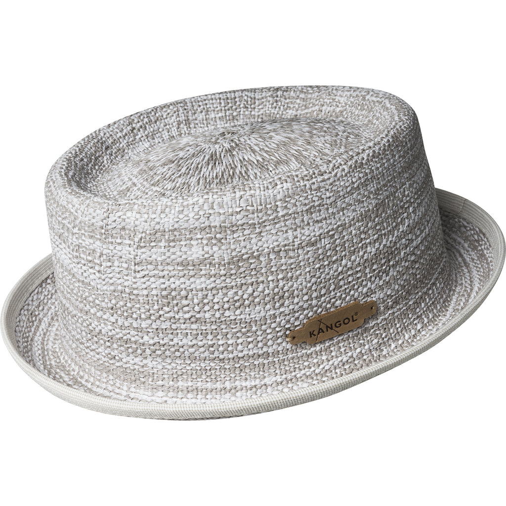 Kangol Wicker Pork Pie Hat