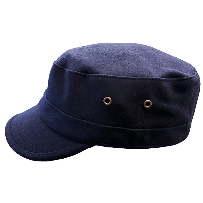 Stefeno Wool Military Cap