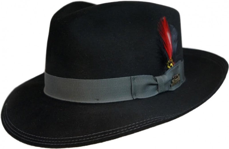 Stetson Benchmark Beaver Felt Dress Hat
