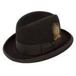Stetson Homburg Wool Dress Hat