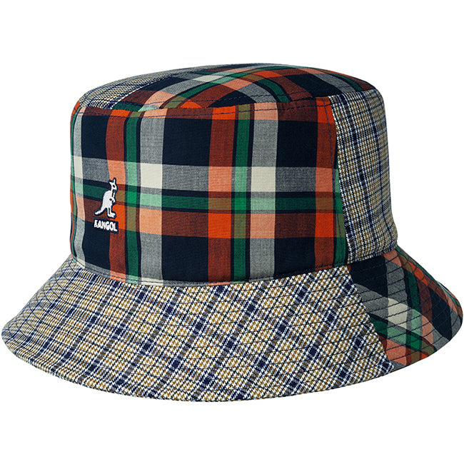 Kangol Plaid Mashup Bucket