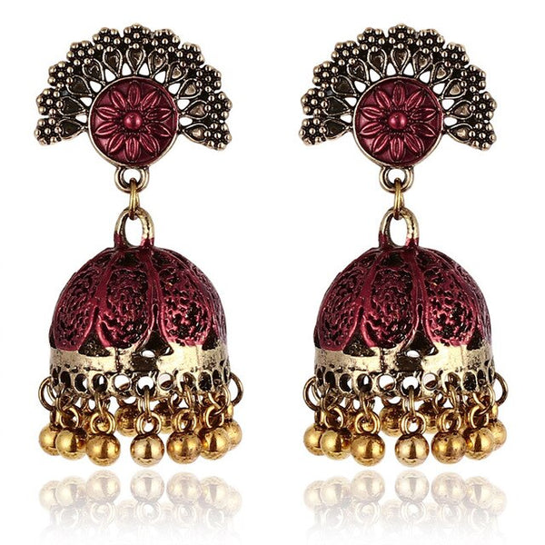 Vintage Turkish Jhumka earrings