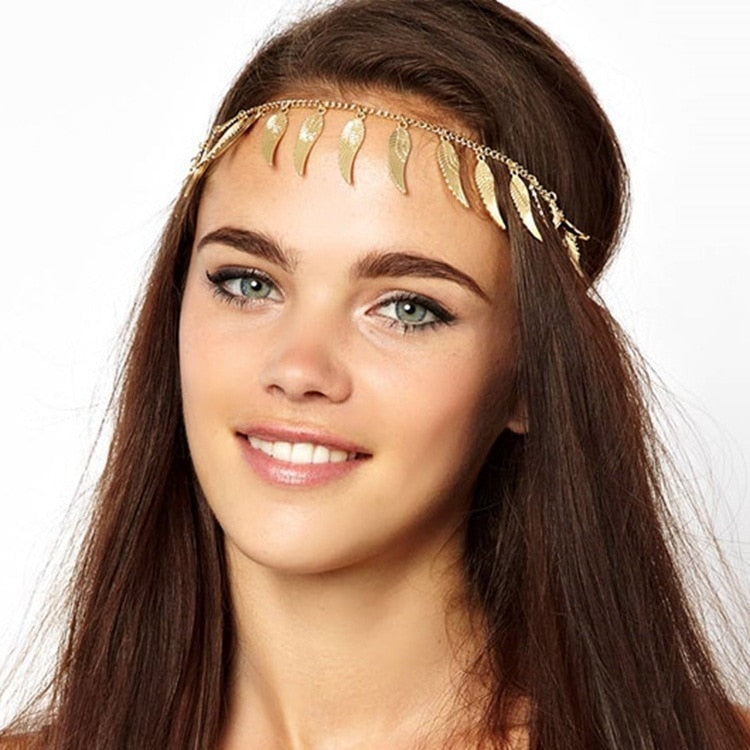 Vintage angel headchain