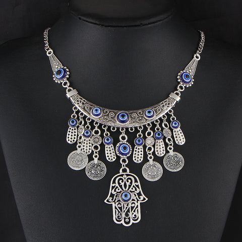 Tibetan style ethnic necklace