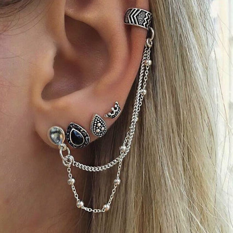 Bohemia earrings set