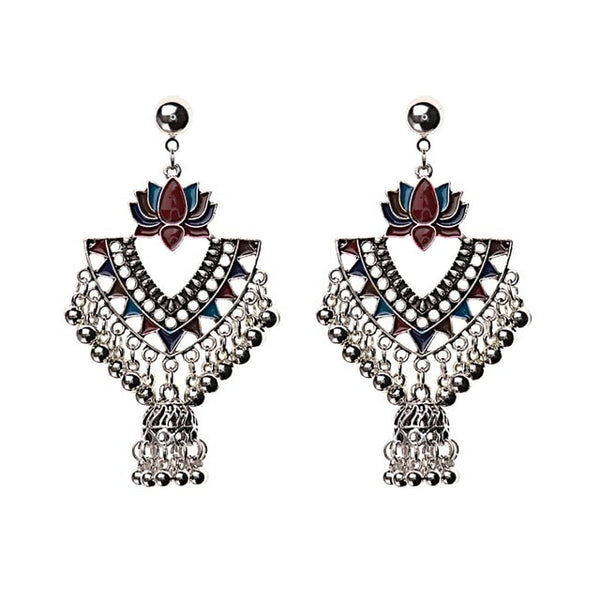 Ethnic vintage jhumka earrings