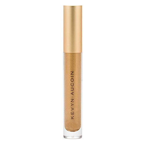 Kevyn Aucoin The Molten Lip Color Metals, Gold, 0.14 Fluid Ounce