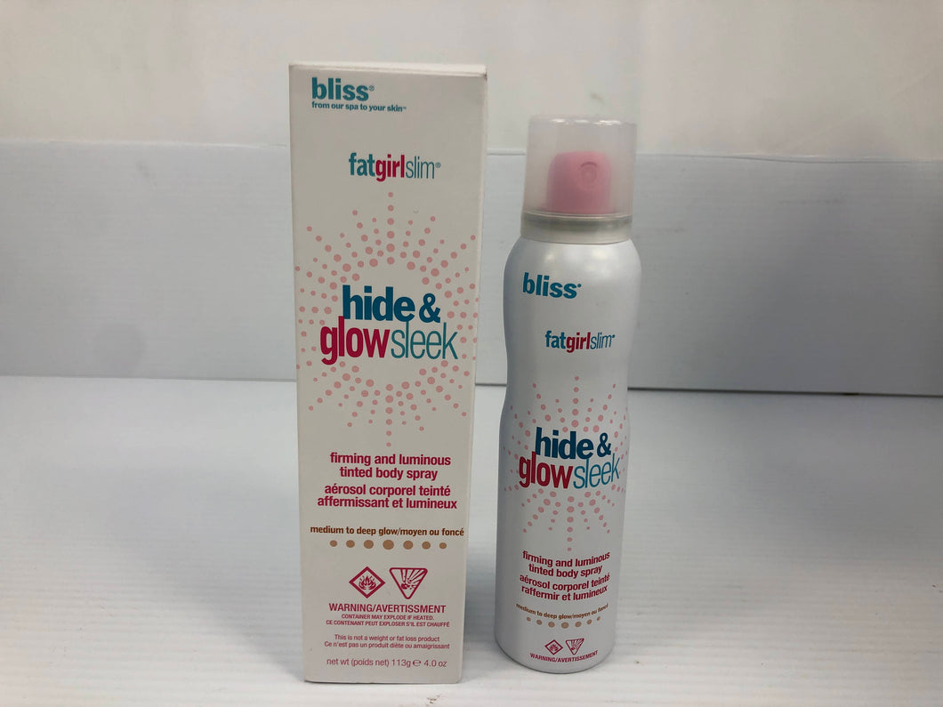 Bliss Fabgirlslim Hide and Go Stylish Tinted Body Spray