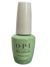 Load image into Gallery viewer, OPI Soak-Off Gel Color GC H65 - THAT'S HULA-RIOUS! - .5 oz