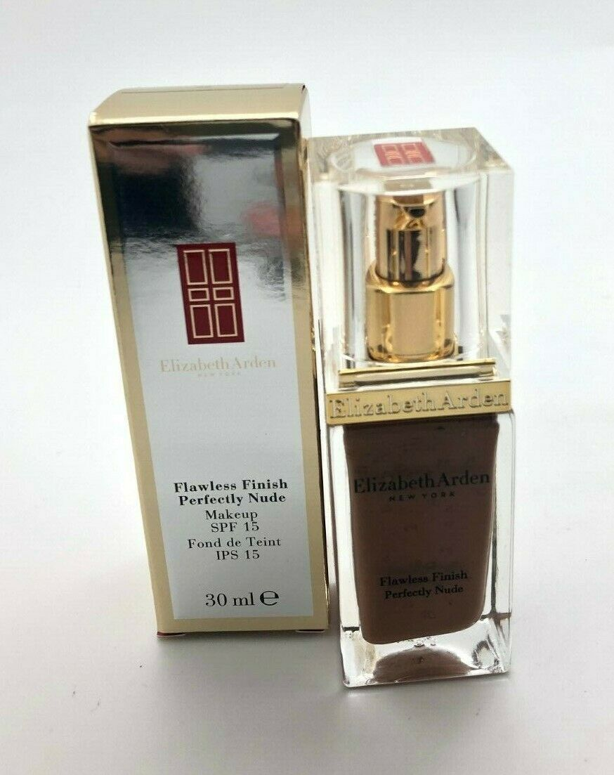 Elizabeth Arden Flawless Finish Perfectly Nude Makeup Warm Mahogany 1 oz