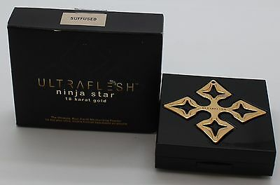 Fusion Beauty UltraFlesh Ninja Star 18 Karat Gold Compact - Suffused, .27oz