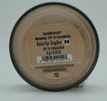 Load image into Gallery viewer, BareMinerals Original Broad Spectrum Foundation SPF15- Fairly Light, .28oz