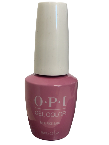 OPI Soak-Off Gel Color GC T80 - RICE RICE BABY - .5 oz