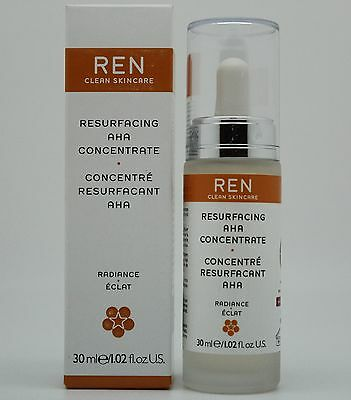 Ren Resurfacing AHA Concentrate, Radiance, 1.02 Ounce