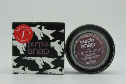 Benefit Creaseless Cream Shadow/Liner - Purple Snap, .16 Ounce