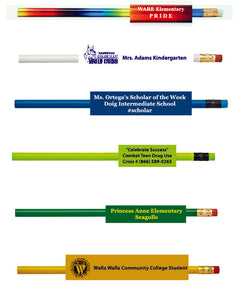 Back to School Pencils!