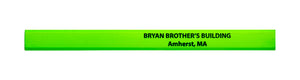 Pencil Guy Shop Promotional Personalized Imprinted Neon Carpenter Pencils - Pencil Guy Shop