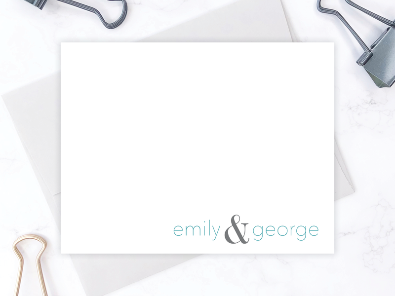 Couple's Stationery