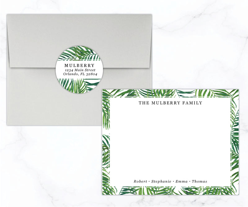 Tropical Family Stationery