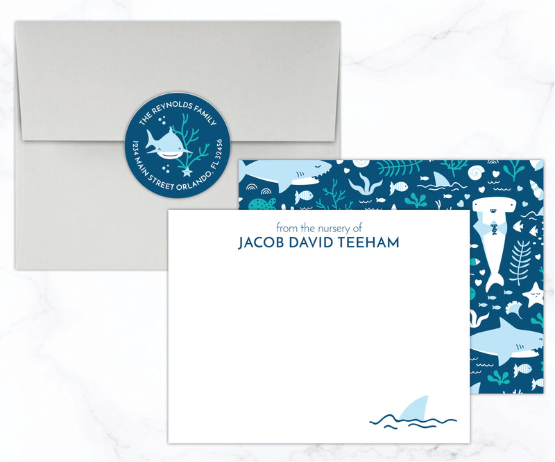 Shark Stationery Set