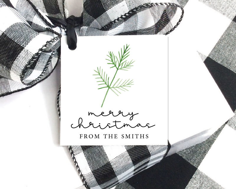 Holiday Gift Tags  |  Simple Sprig