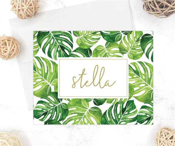 Tropical Personalized Stationery