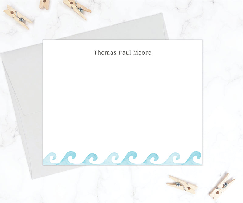 Wave Stationery Set