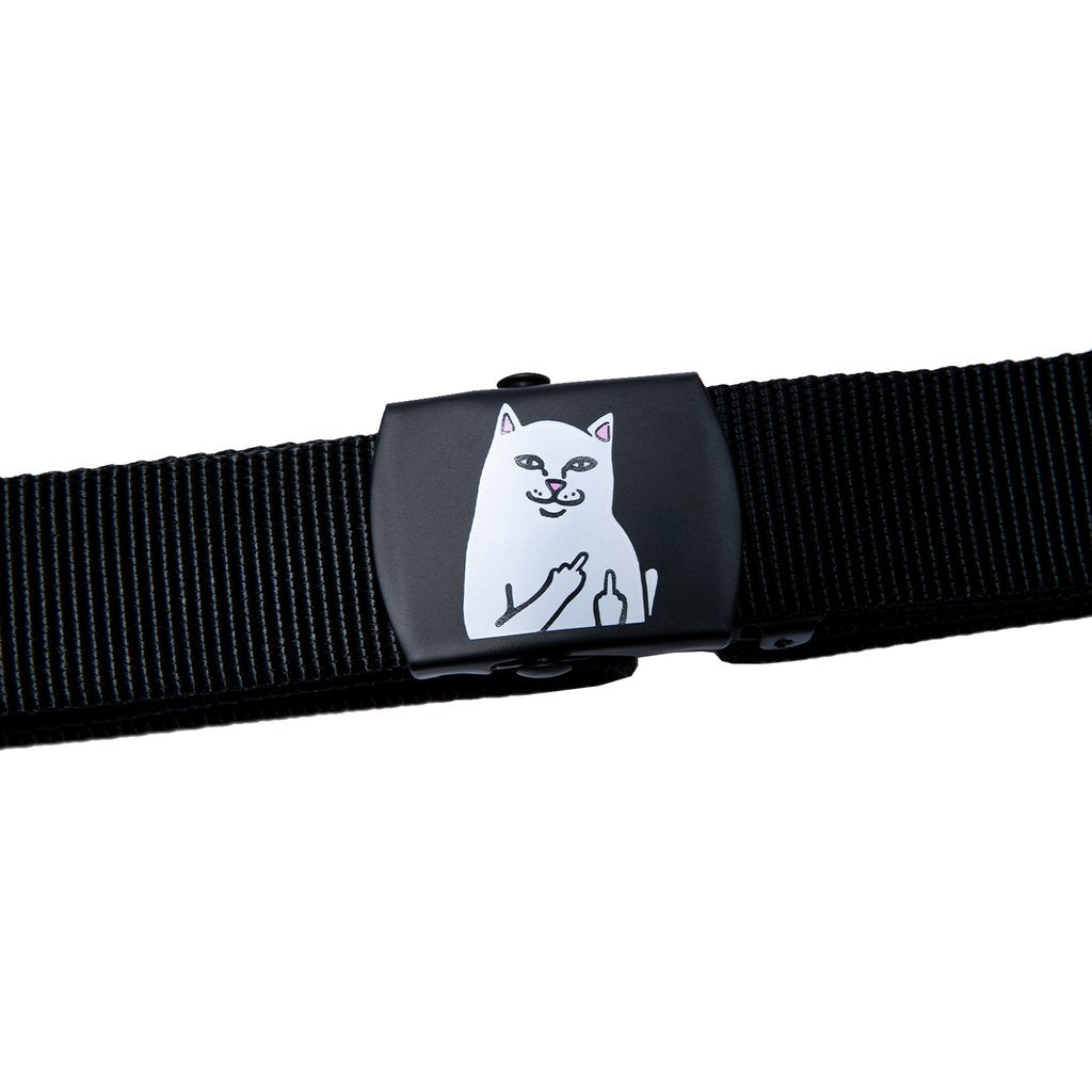Rip N Dip Lord Nermal Web Belt - Black