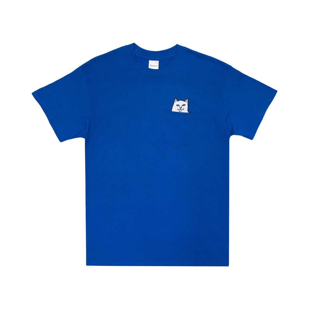 Rip N Dip Lord Nermal Pocket T-Shirt - Royal Blue