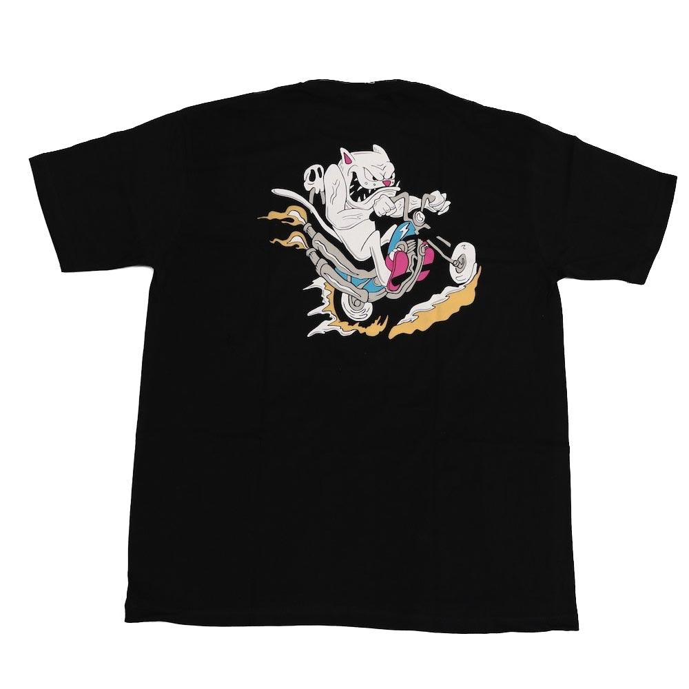 Rip N Dip Nerm Gearhead T-Shirt - Black - Aylesbury Skateboards UK
