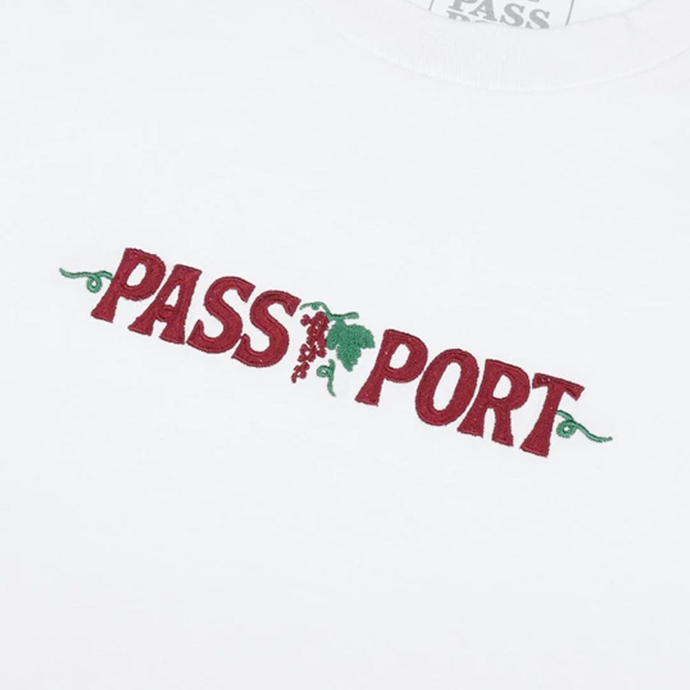 Passport Life of Leisure T-Shirt - White