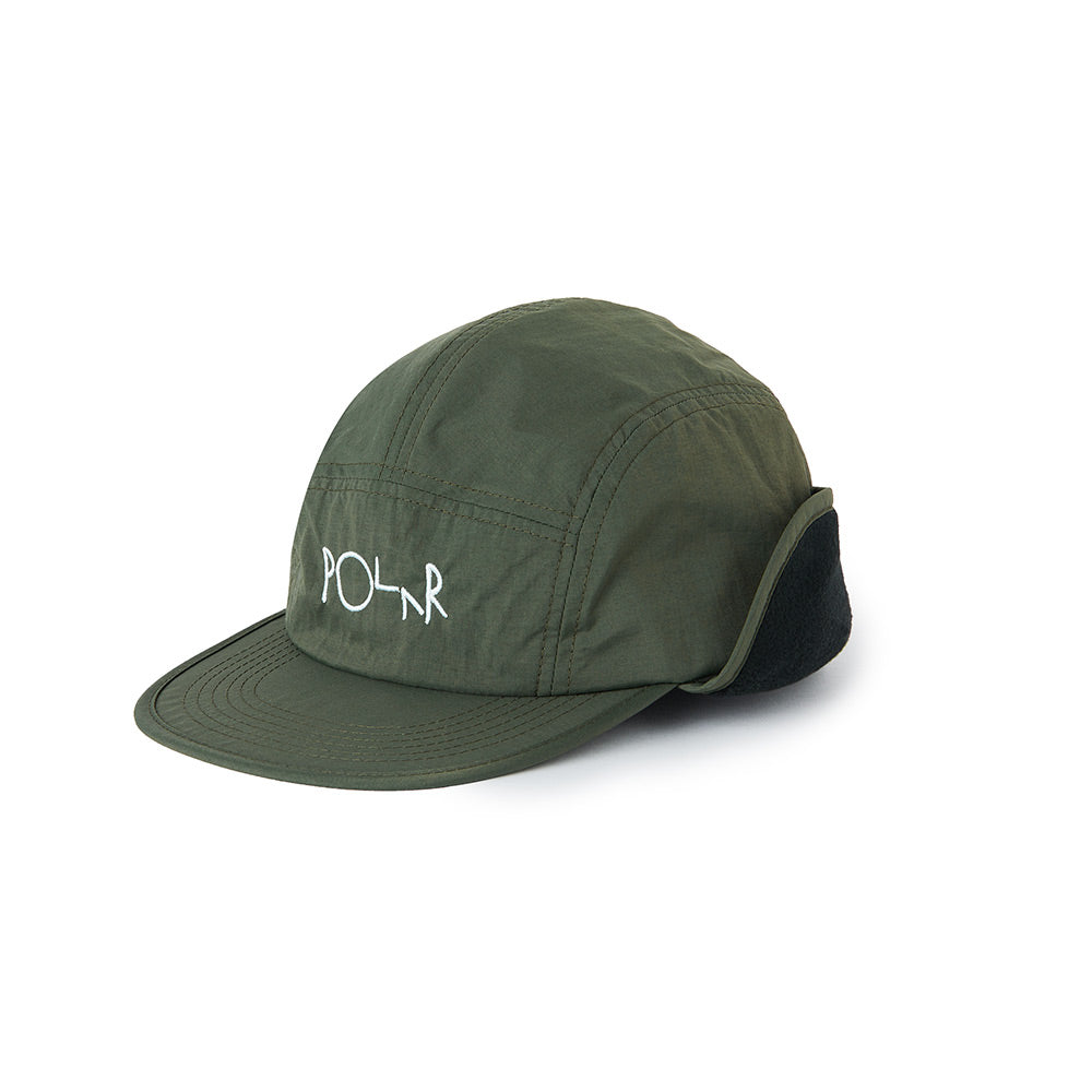 Polar Skate Co. Flap Cap - Army Green