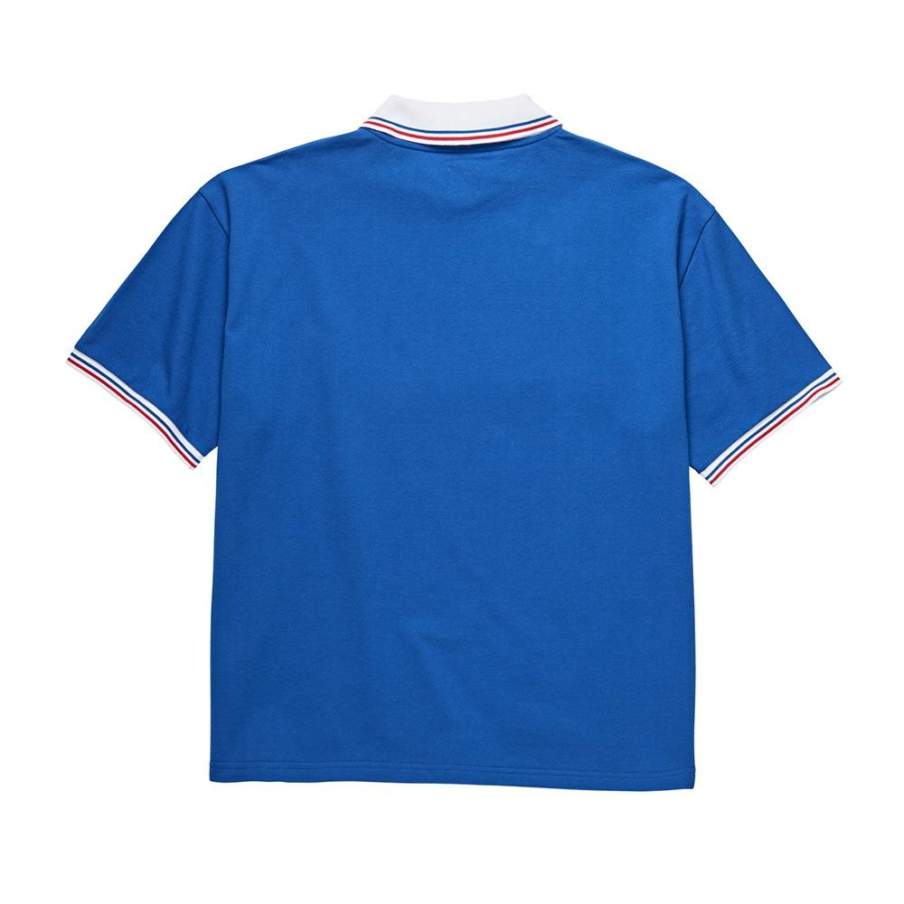 Polar Skate Co. Pique Surf T-Shirt - Blue - Aylesbury Skateboards UK