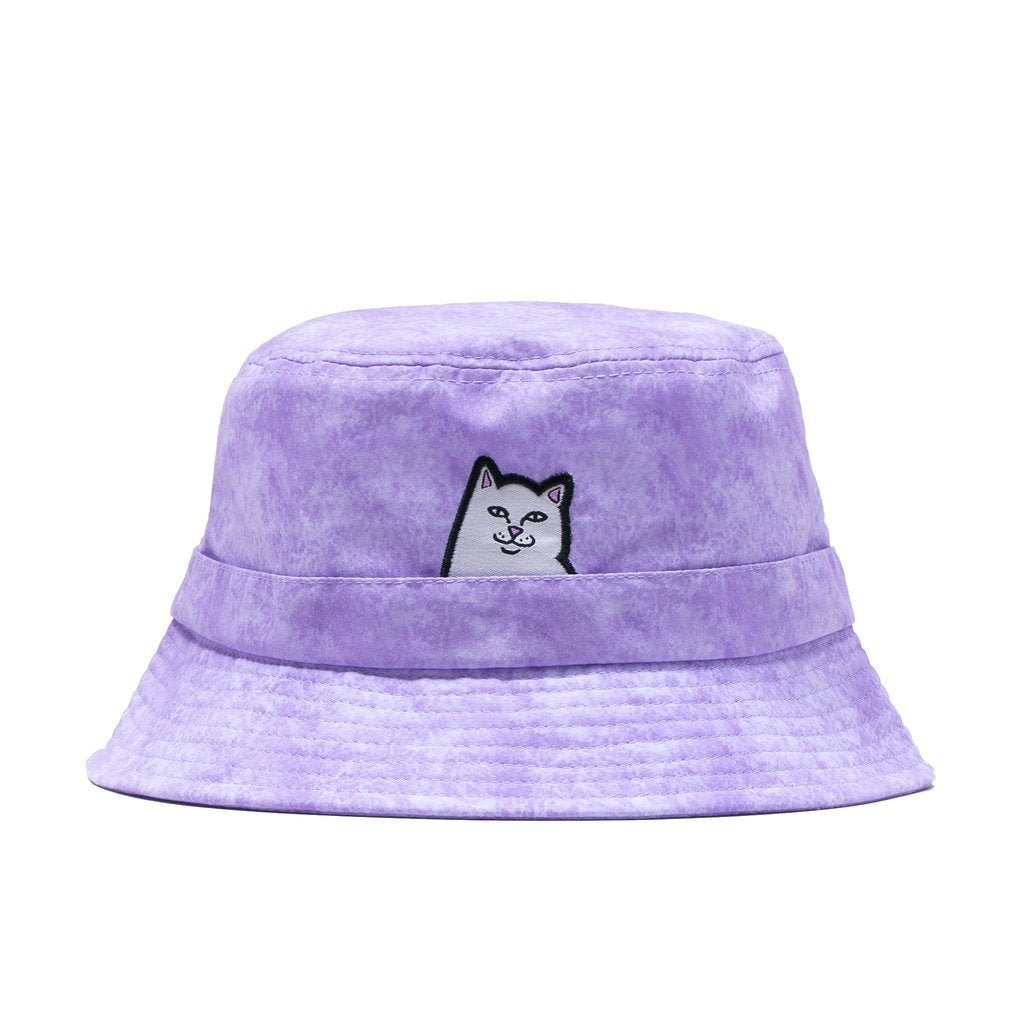 Rip N Dip Lord Nermal Bucket Hat - Lavender Mineral Wash