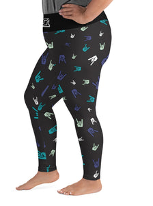 Rock On Leggings  2XL - 6XL