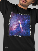Load image into Gallery viewer, Ride The Cosmic Wave Men's Tee