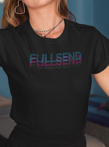 FullSend Offset Women's Slim Tee