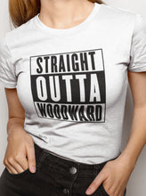 Load image into Gallery viewer, Straight Outta Woodward Women's Slim Tee