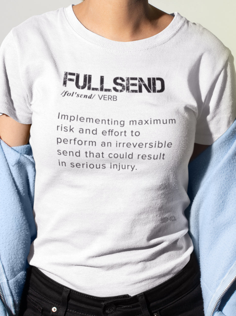FullSend Definition Women's Slim Tee