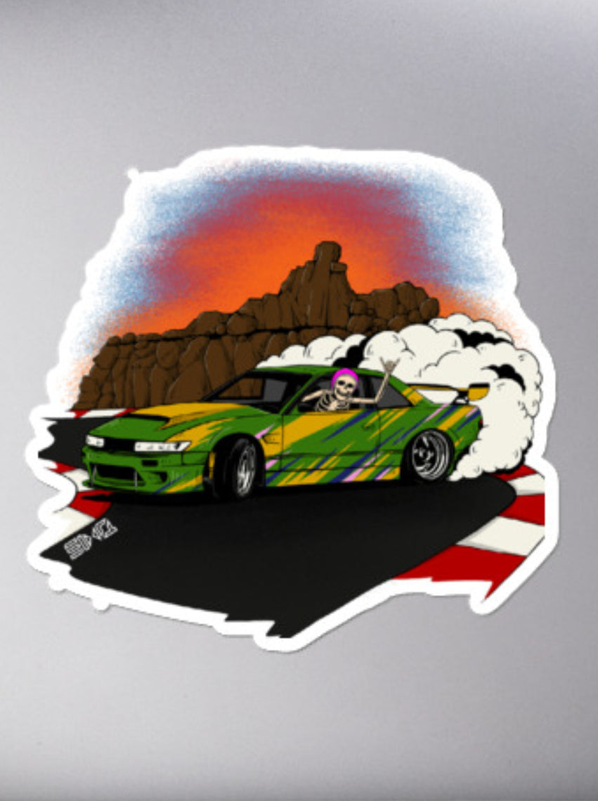 Drift Skellie Sticker