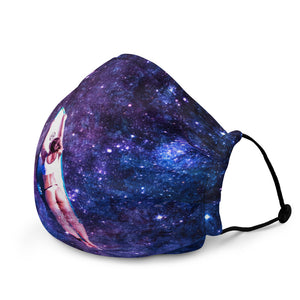 Cosmic Wave Face Mask
