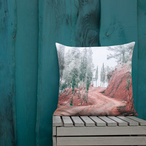 Road Less Traveled Pillow
