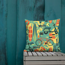 Load image into Gallery viewer, Wavy Baby Pillow