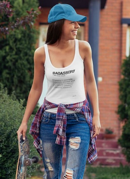 Badassery Definition Women's Tank